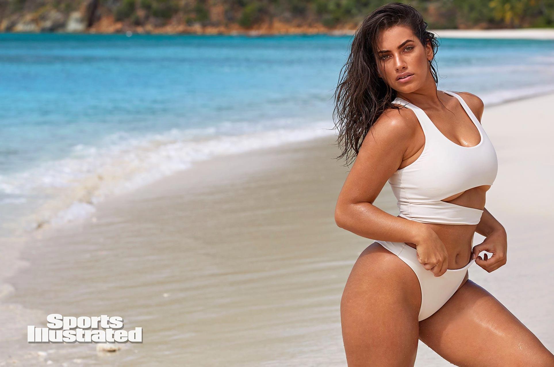 Лорена Дюран в каталоге купальников Sports Illustrated Swimsuit 2020 / фото 25