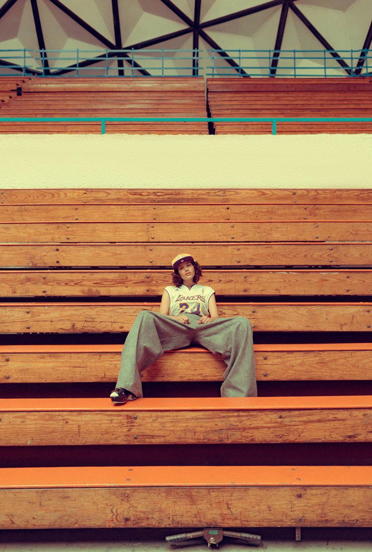 симуляция баскетбола НБА в исполнении фотомодели Синди / фото 10