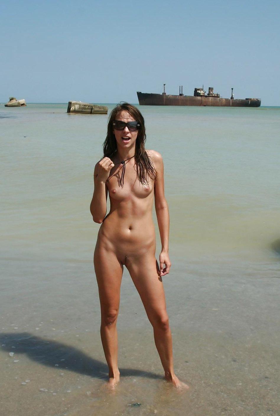 Amateur women naked in public-7616