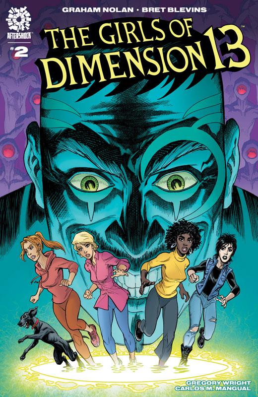 Girls of Dimension 13 #1-5 (2021)