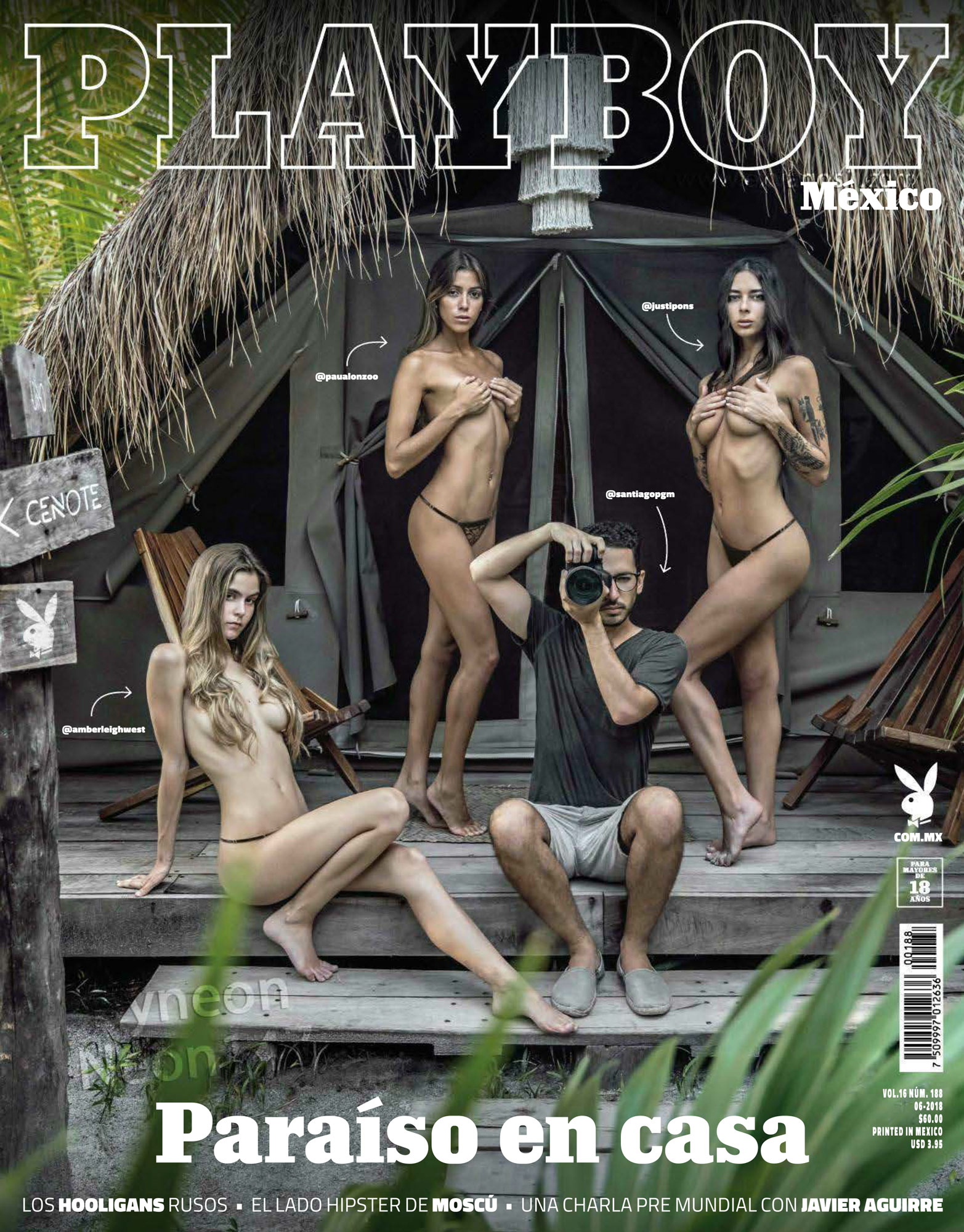 Playboy Mexico Junio 2018