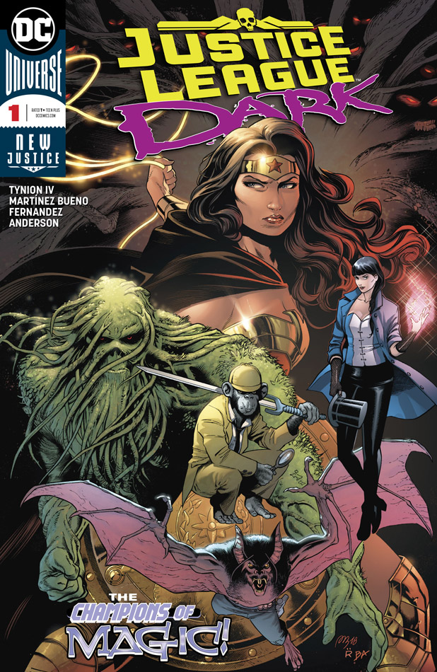 Justice League Dark #1-4 (2018)