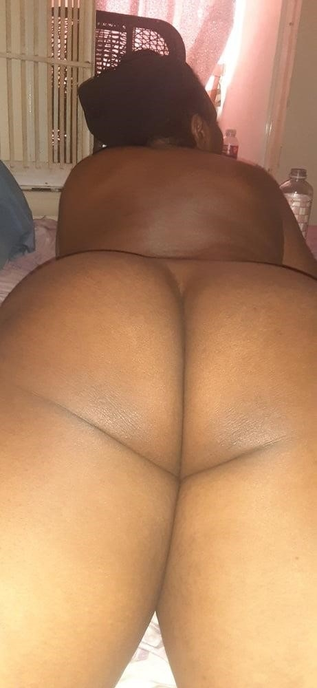 Fat black booty naked-3536