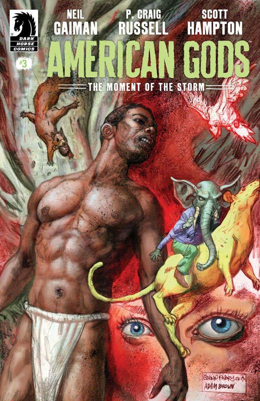 American Gods - The Moment of the Storm #1-7 (2019)