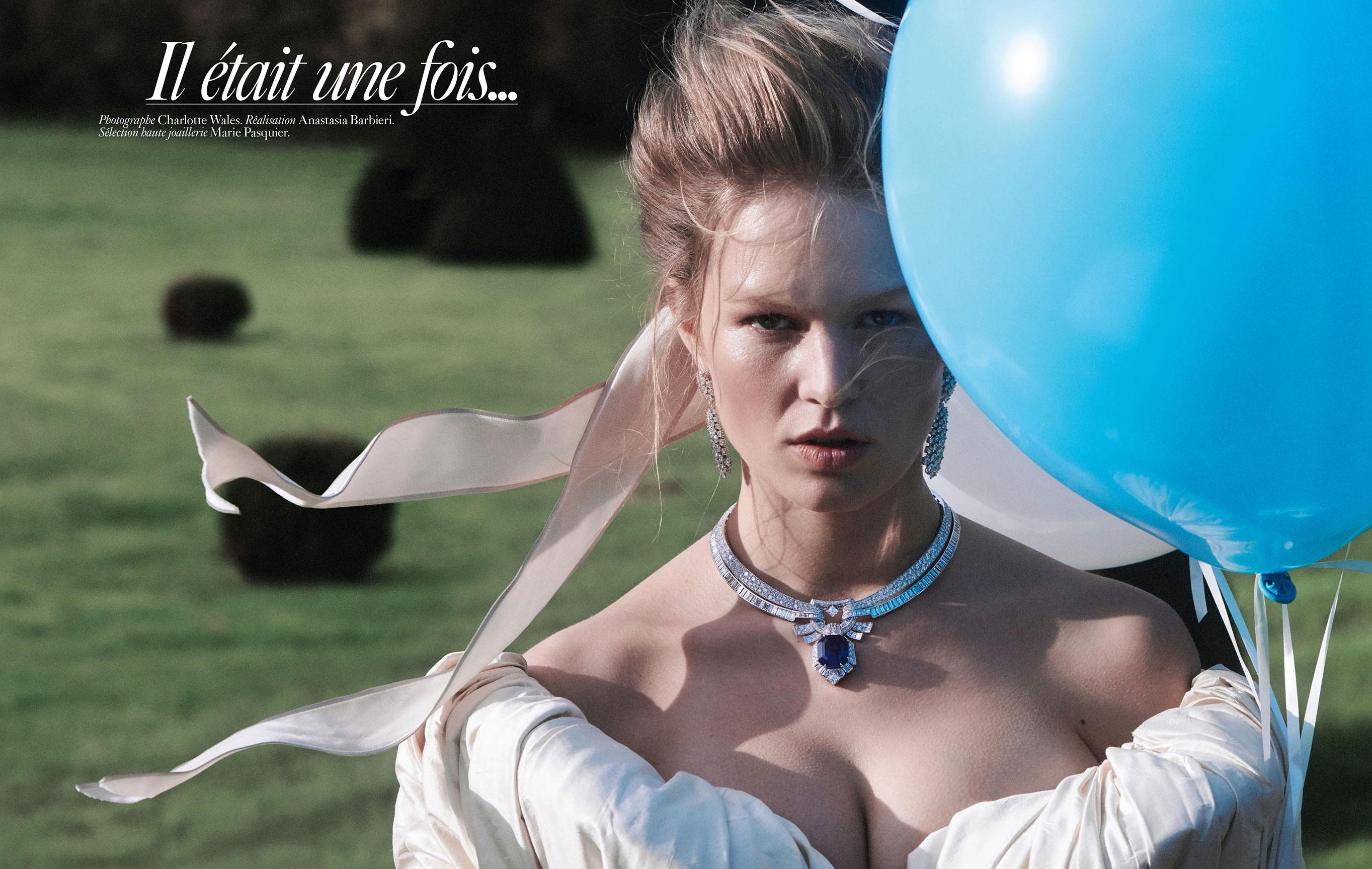 Обычная жизнь королевы / Анна Юэрс, фотограф Шарлотта Уэльс / фото 01