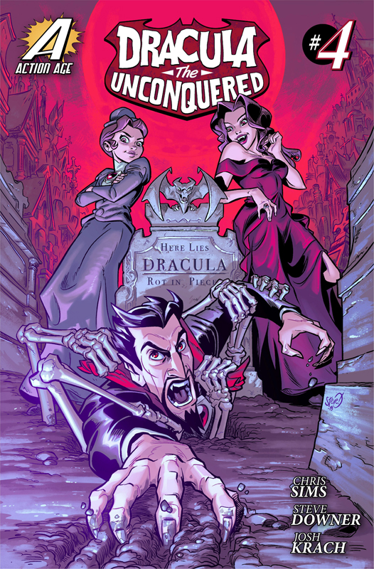 Dracula the Unconquered #1-4 (2015-2018)