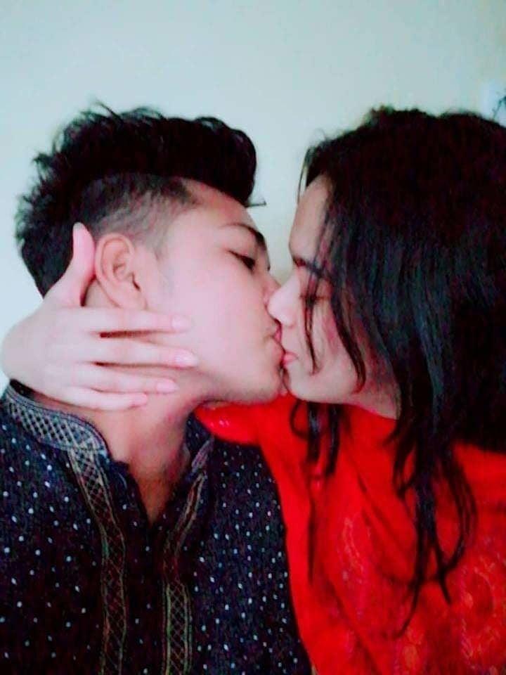 Desi lesbian hot kissing-1166