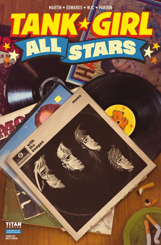 Tank Girl - All Stars #1-4 (2018)