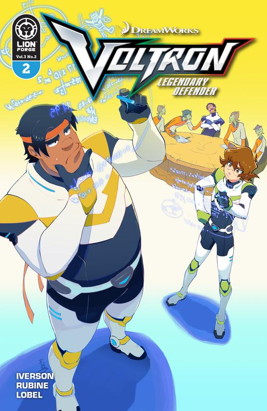 Voltron - Legendary Defender v3 #1-5 (2018)
