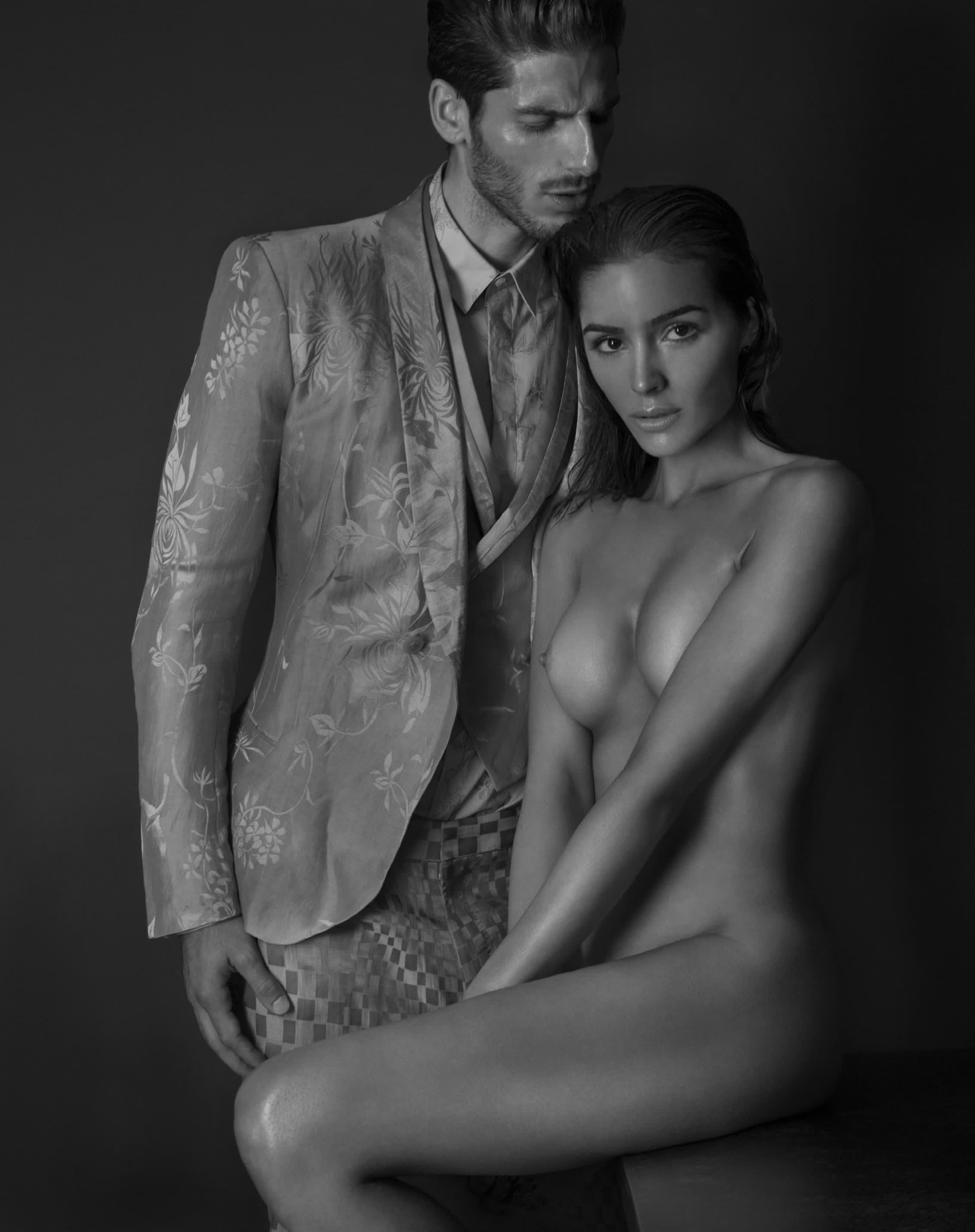 Olivia Culpo and Adam Nicklas by Tony Duran / Treats! Magazine issue 09