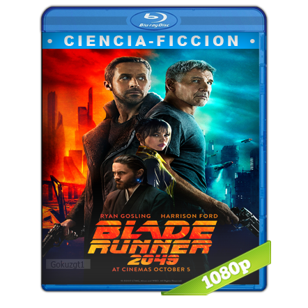 Blade Runner 2049 (2017) BRRip Full 1080p Audio Trial Latino-Castellano-Ingles 5.1