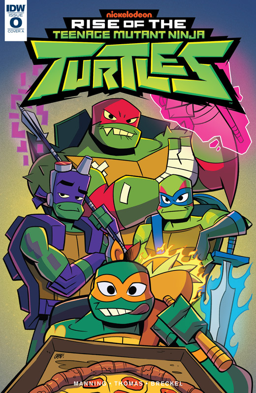 Rise of the Teenage Mutant Ninja Turtles #0-5 (2018-2019) Complete