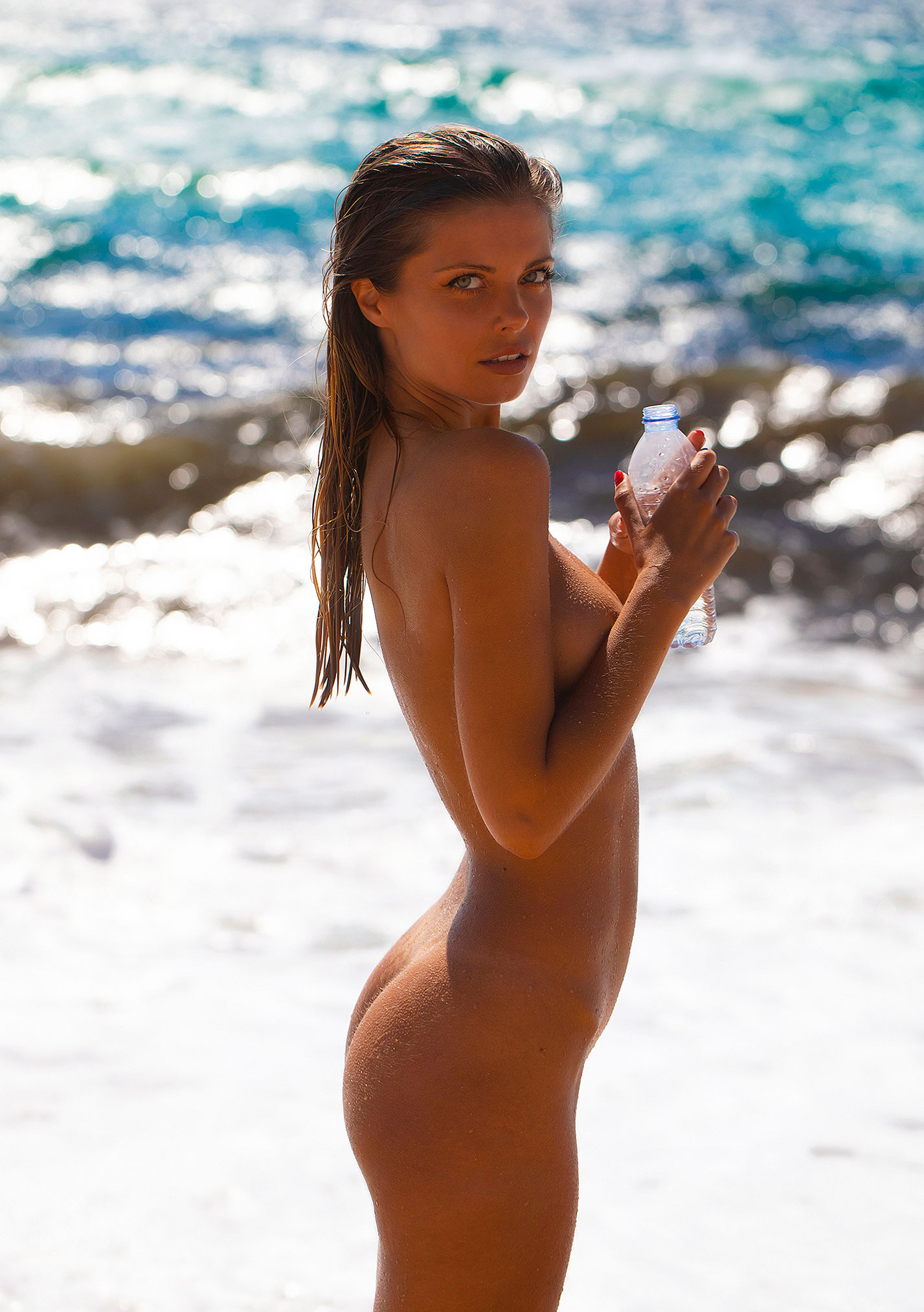 Девушка месяца Алина Бойко, Playboy Нидерланды август 2020 / фото 24