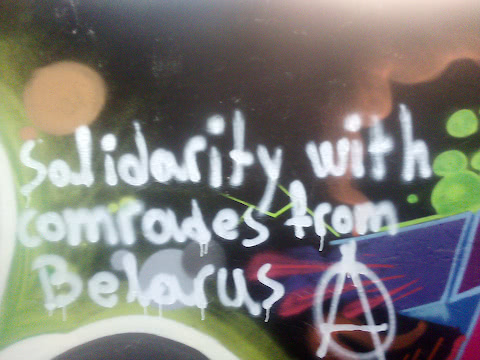 Solidarity with comrades from Belarus