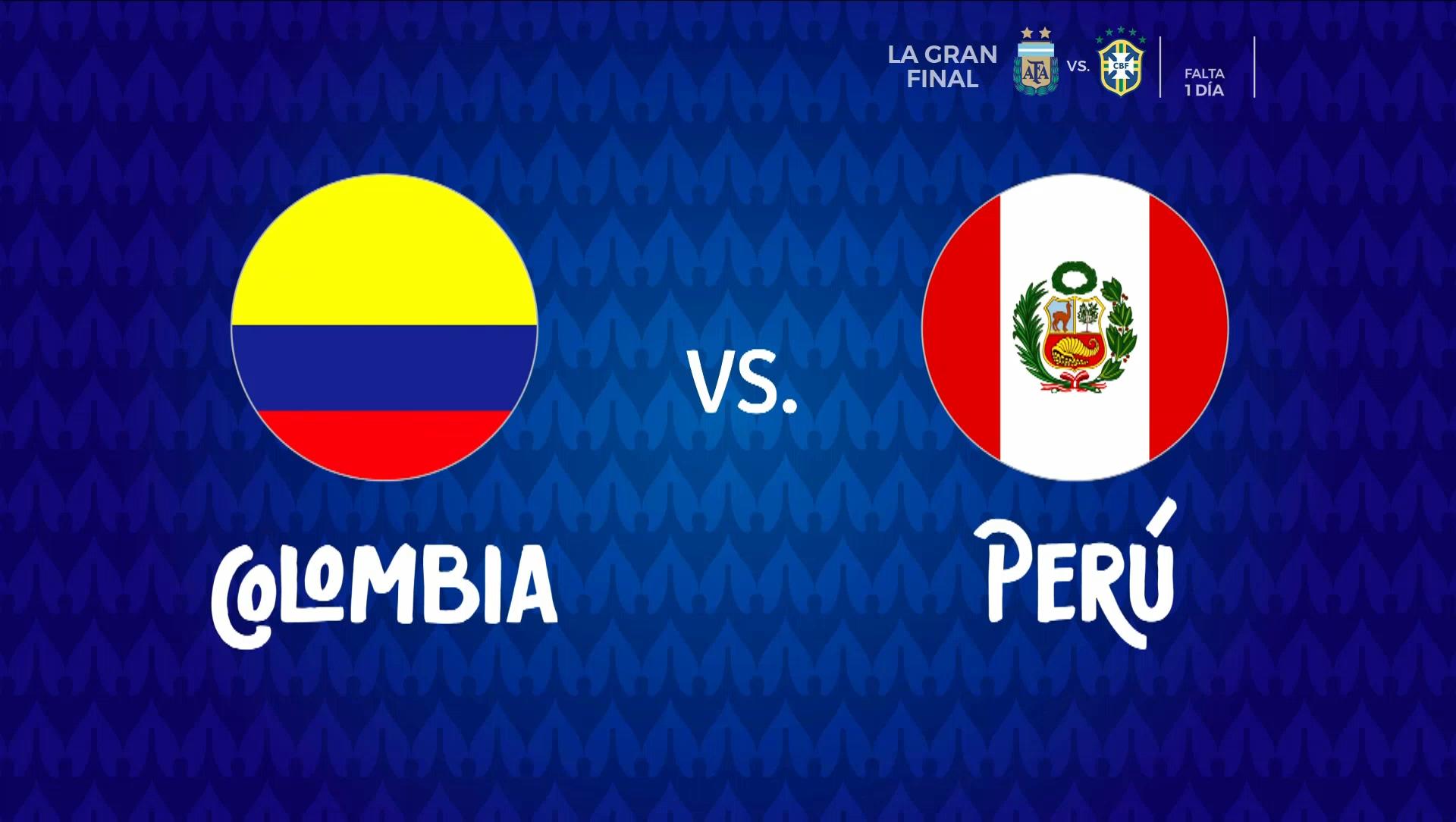 Full match: Colombia vs Peru