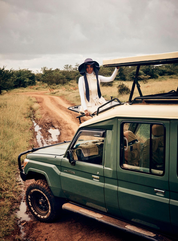 Халима Аден путешествует по Кении / фото 03