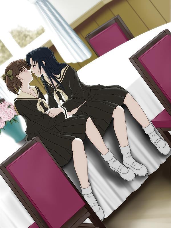 Lesbian anime pics-8836