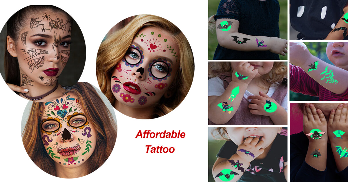 Tattooaffordable Introduces A Wide Range Of Waterproof,Temporary Tattoo Stickers To Kids And Adult At Affordable Price
