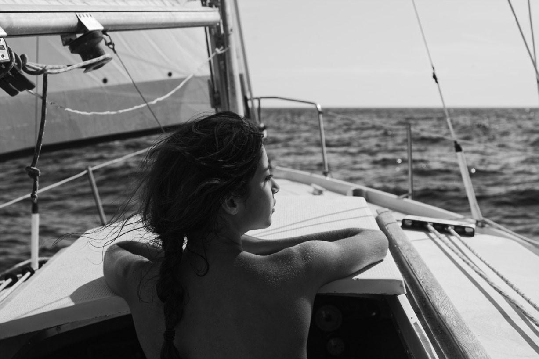 Emilie Payet nude by Marc Hervouet for Le petit voyeur