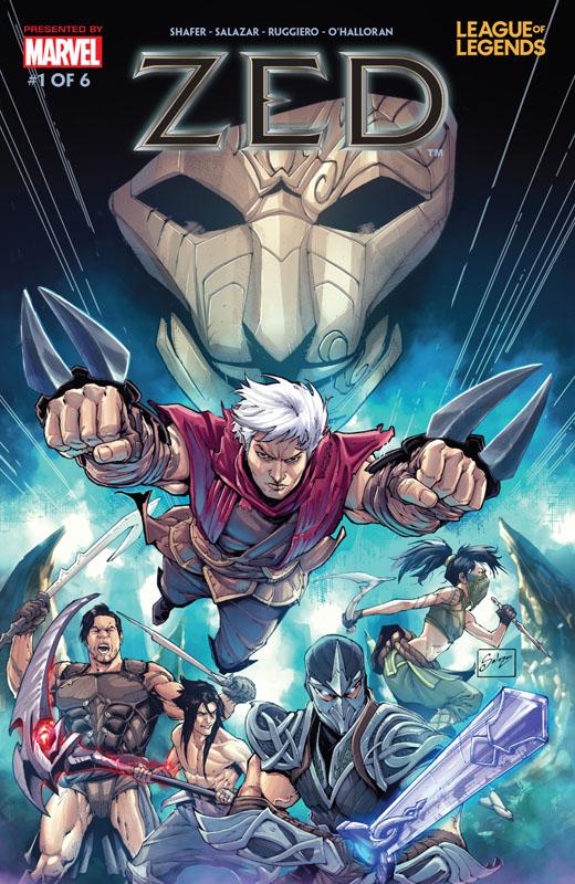League of Legends - Zed #1-6 (2020) Complete