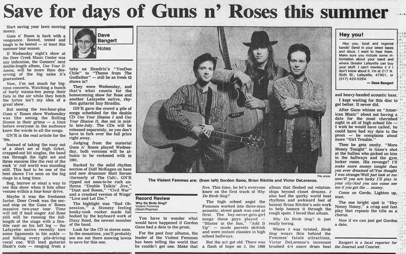 1991.05.29 - Deer Creek Music Center, Noblesville, USA Uc9C7rPT_o