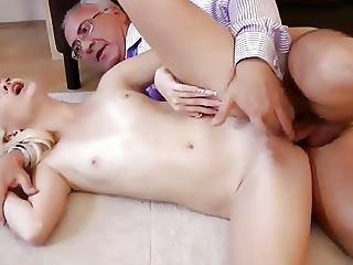 Teen and granny lesbian-5977