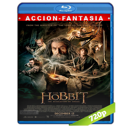 descargar El Hobbit 2 720p Lat-Cast-Ing[Fantasia](2013) gratis