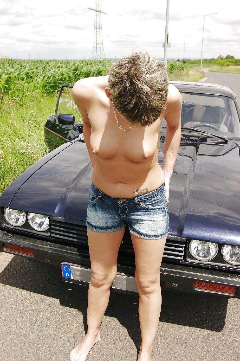 Naked girl with jeans-3472