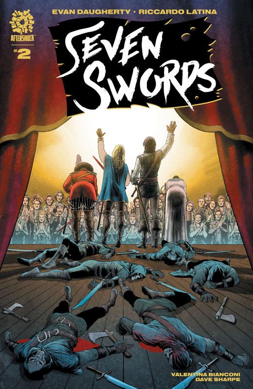 Seven Swords #1-4 (2021)