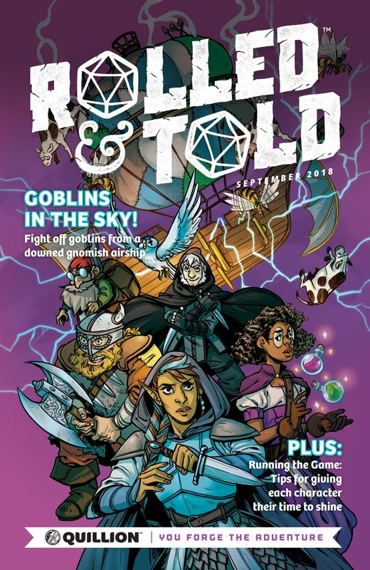 Rolled & Told #0-12 (2018-2019)
