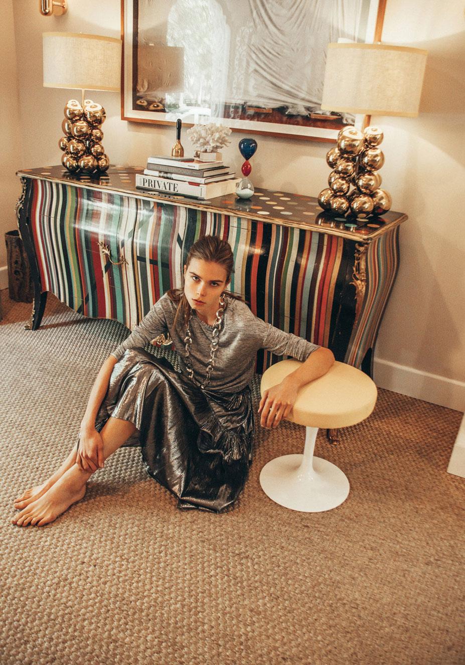 Анна Штольц тестирует модную одежду / фото 19