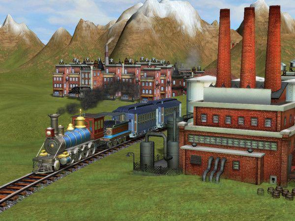 Sid Meier's Railroads! Captura 2