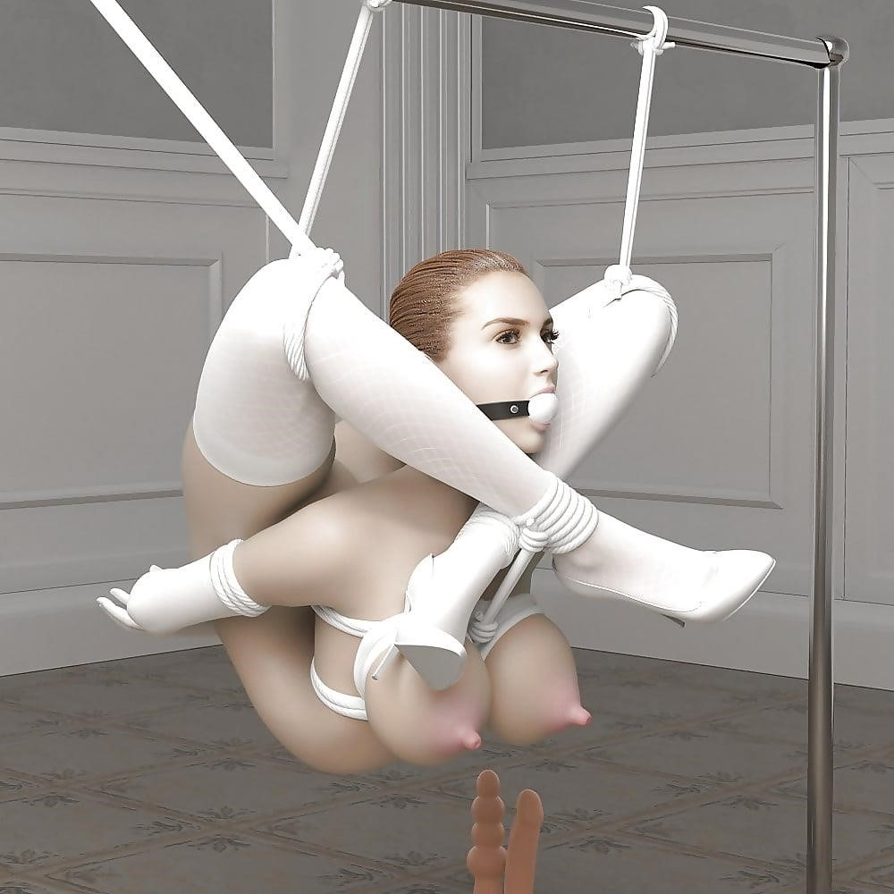 3d bondage girls-3049