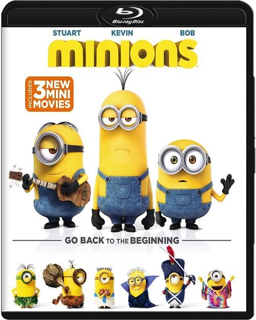 Minionki / Minions (2015) MULTi.720p.BluRay.x264.DTS.AC3-DENDA / DUBBING i NAPISY PL