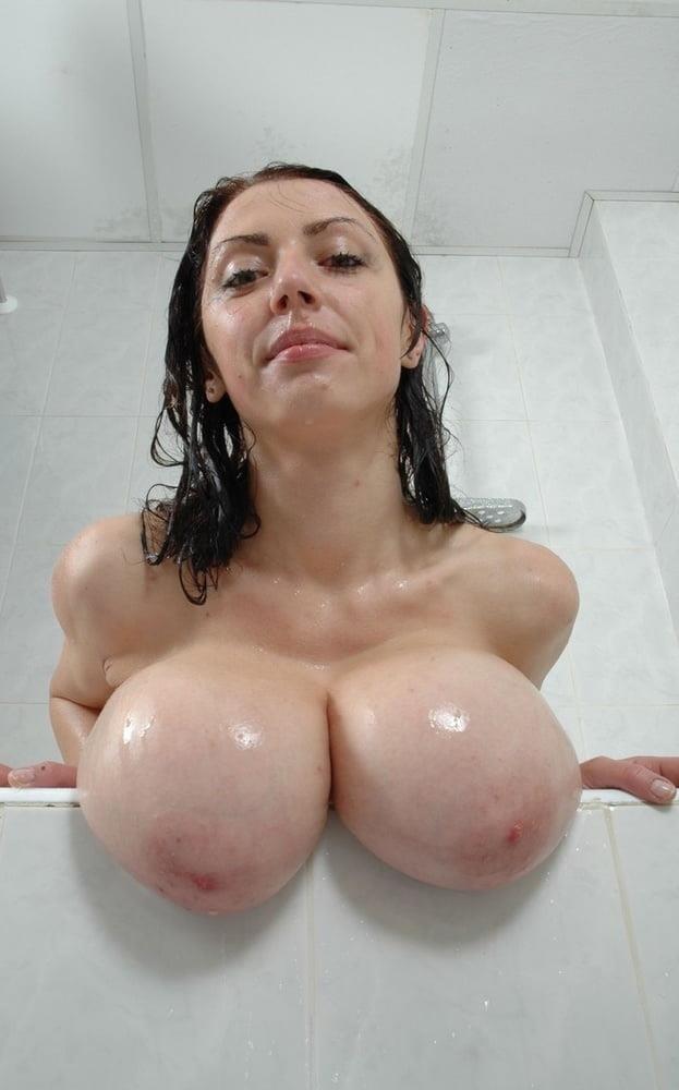 Slim girl huge tits-3037