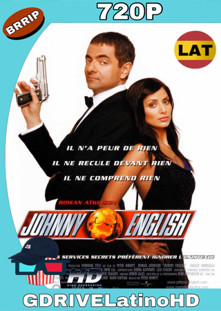 Johnny English (2003) BRRip 720p Audio Trial Latino-Castellano-Ingles MKV