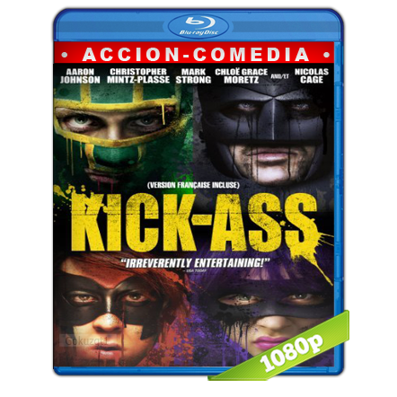 Kick-Ass 1 1080p Lat-Cast-Ing 5.1 (2010)