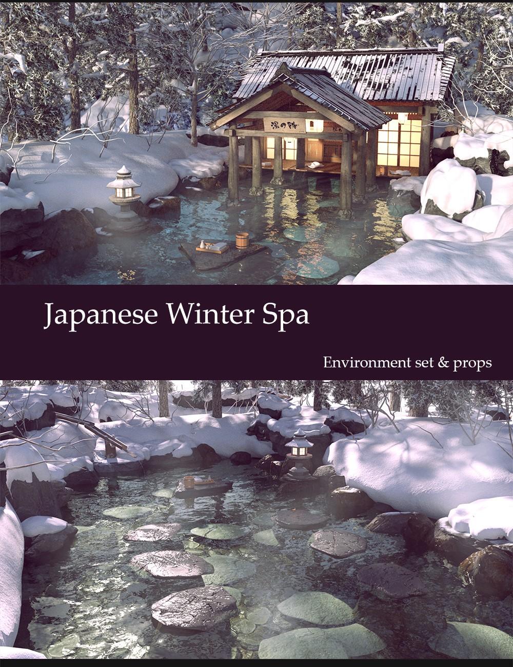 Japanese Winter Spa