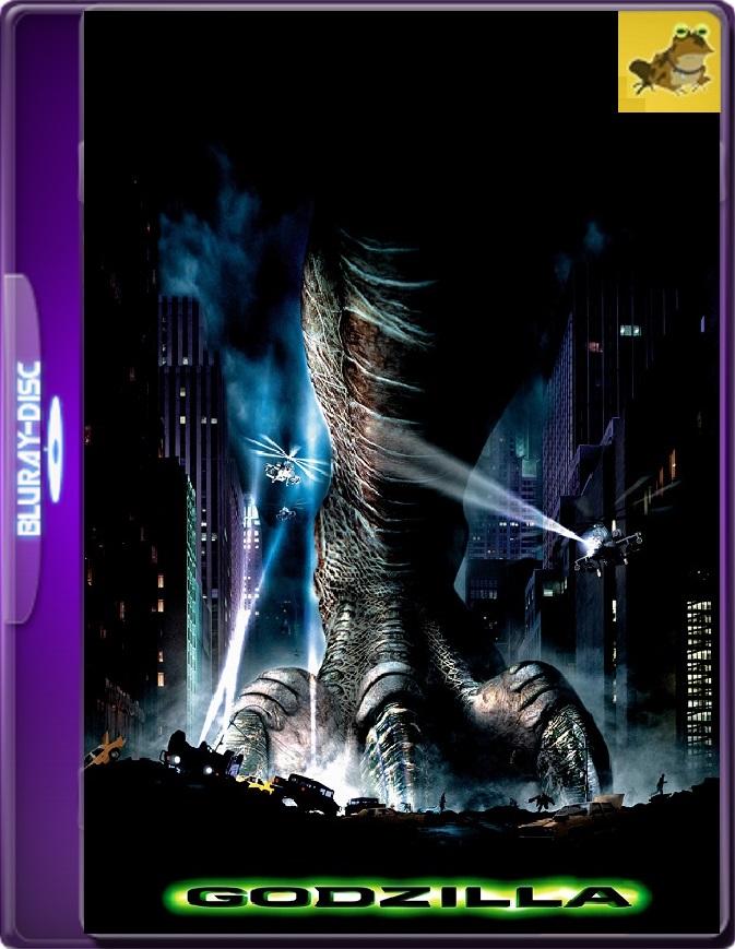Godzilla (1998) Brrip 1080p (60 FPS) Latino / Inglés