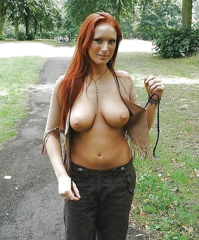 Nude busty public-5886