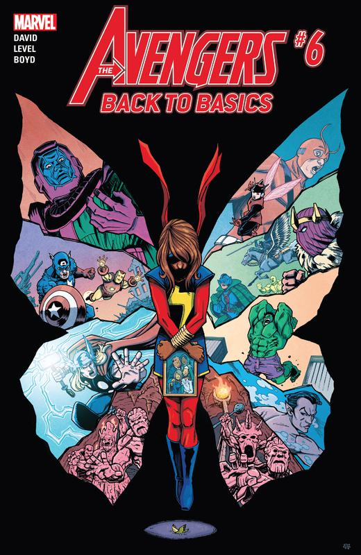 Avengers - Back to Basics #1-6 (2018) Complete