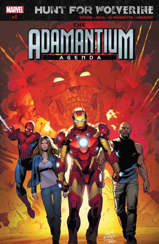 Hunt for Wolverine - Adamantium Agenda #1-4 (2018)