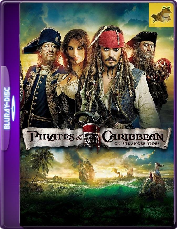 Piratas Del Caribe: En Aguas Misteriosas (2011) Brrip 1080p (60 FPS) Latino / Inglés