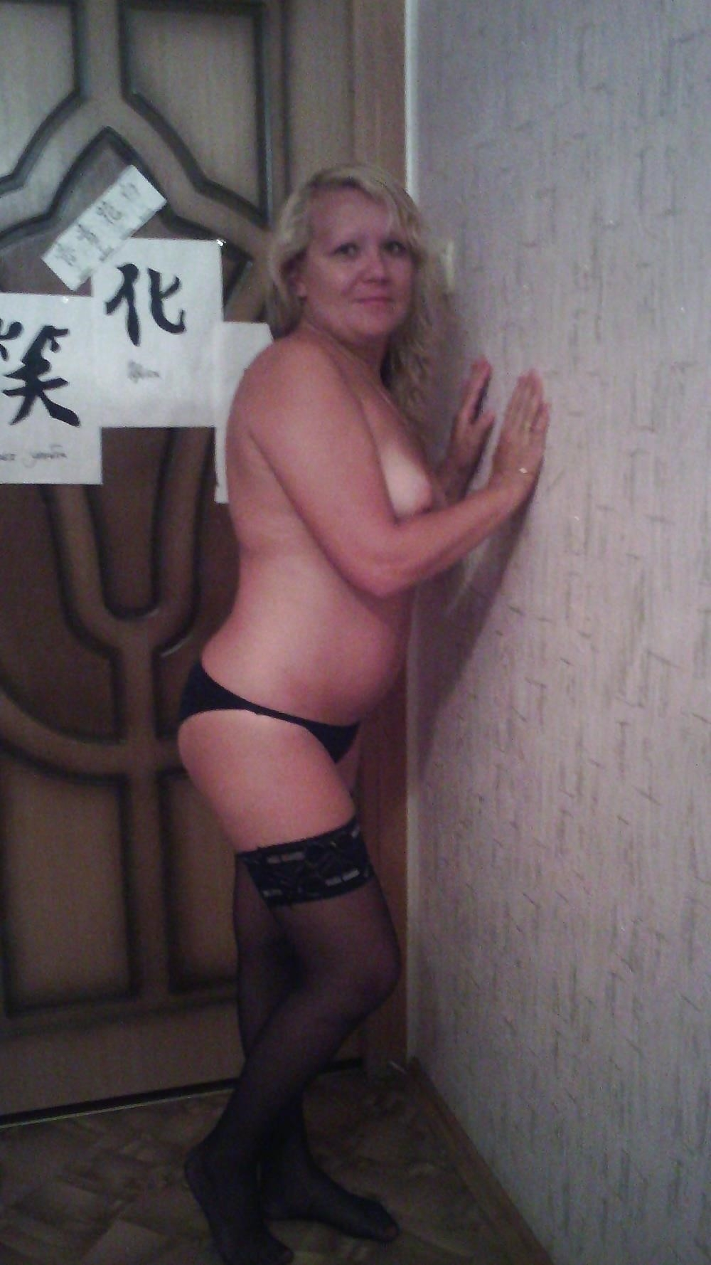 Wife naked stockings-2848