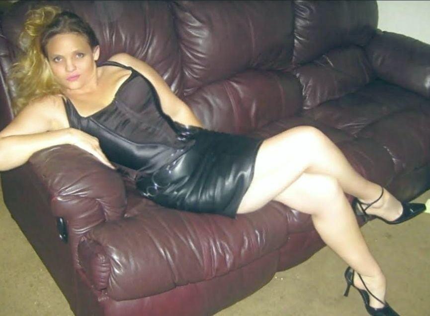 Tu leather skirt-9838