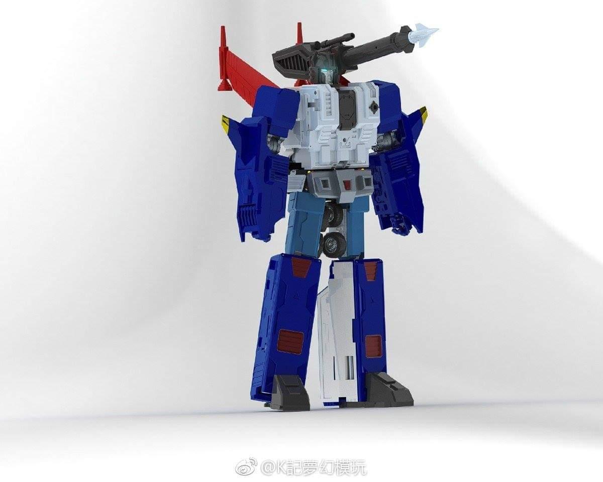 [KFC Toys] Produit Tiers - PC-14 Raijin + PC-15 Grand Raijin + P-16 Raiju - aka Ginrai (Powermaster Optimus) + Remorque de Ginrai + Godbomber = God Ginrai (TF Masterforce) W4iqwKlx_o