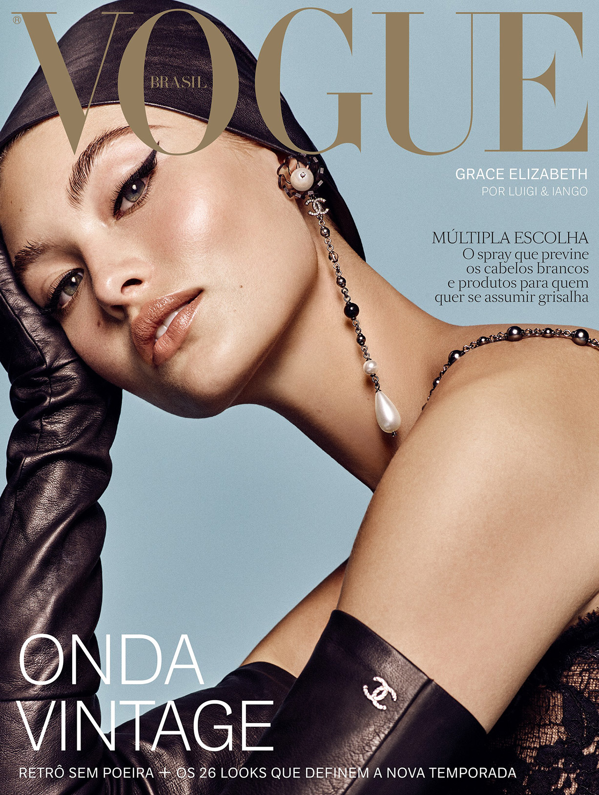 Grace Elizabeth by Luigi Murenu and Iango Henzi - Vogue Brazil august 2018