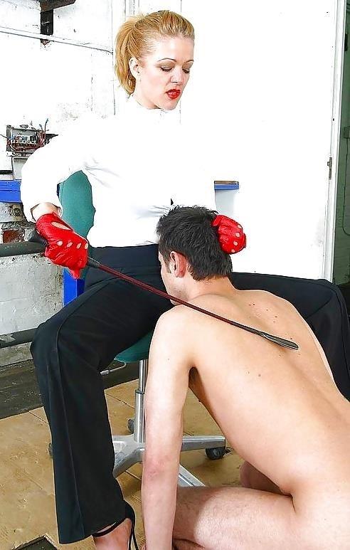 Mistress whips slaves-4659