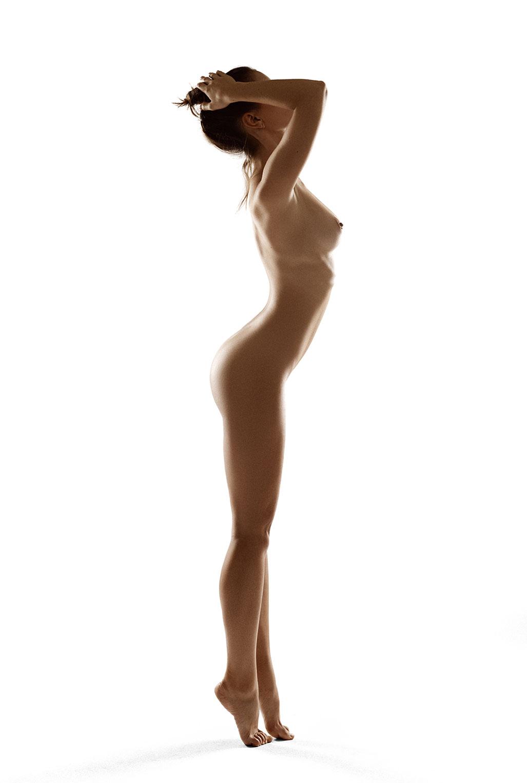 Голая модель Милунель, фотограф Бенджамин Вингриф / фото 05