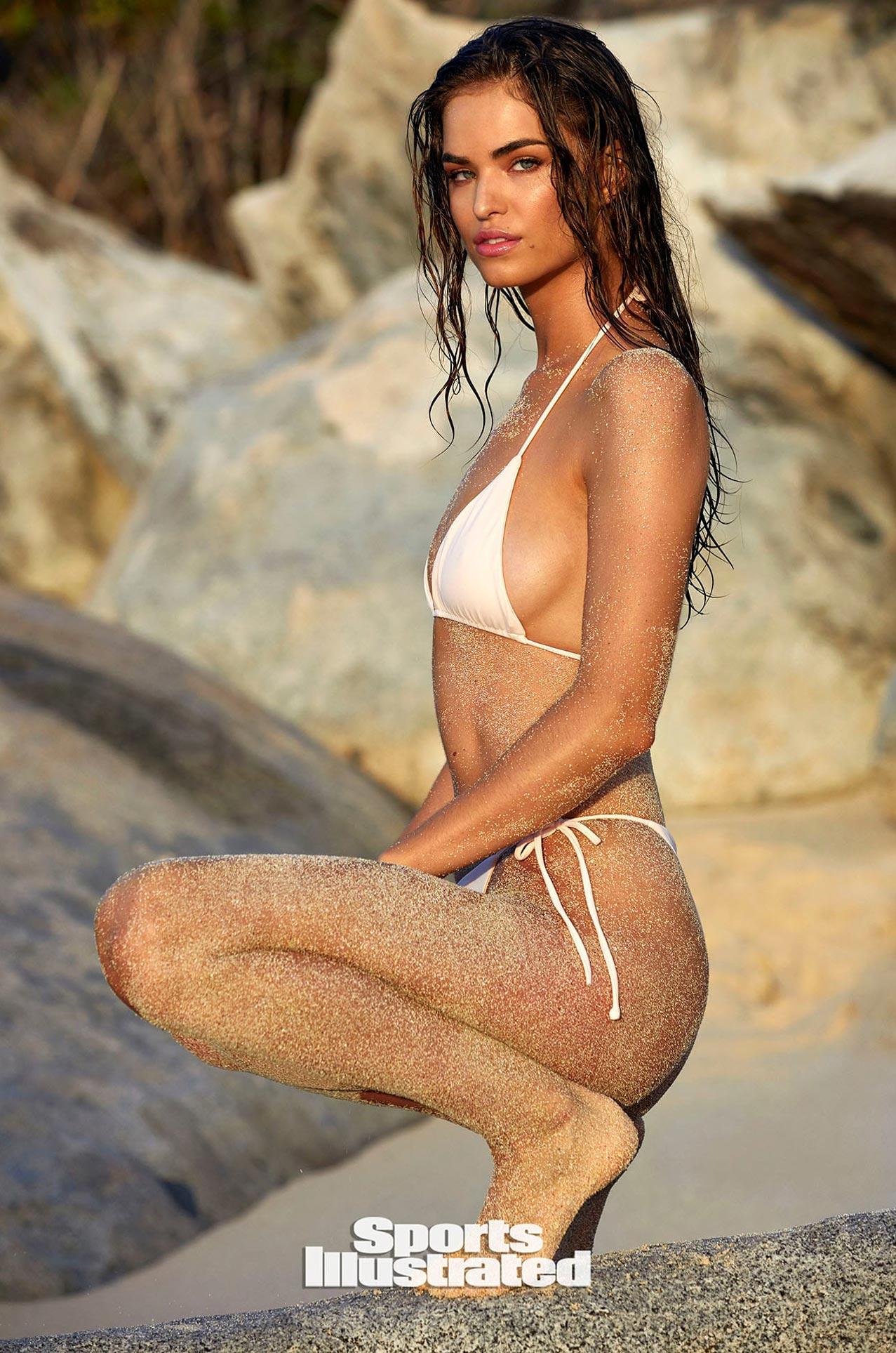 Робин Хольцкен в каталоге купальников Sports Illustrated Swimsuit 2020 / фото 23